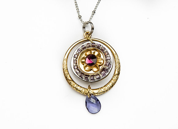 Dawn Pendant-Purple