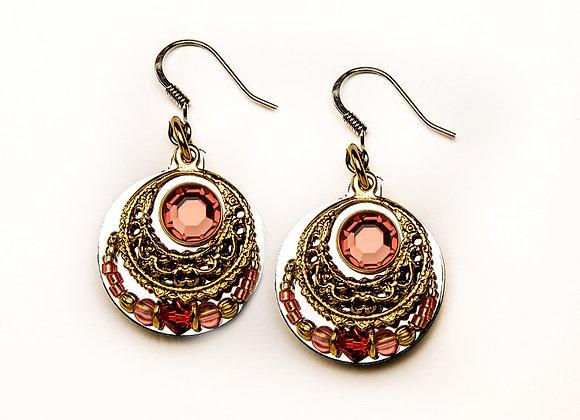 Gitana Earrings-Pink