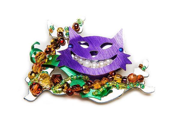 Cheshire Cat Pin