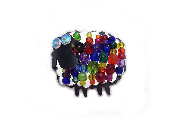 Woolie Rainbow Pin