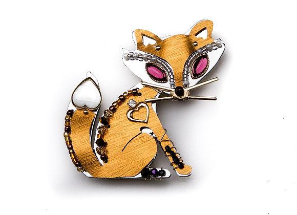 Miss Foxy Pin