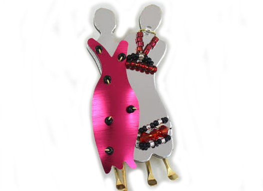 Soul Sisters 2 Pin-Red