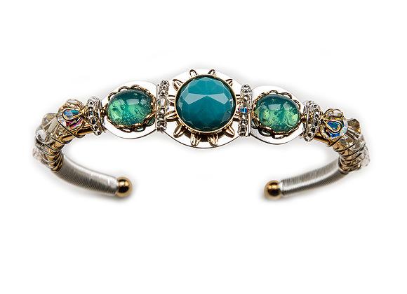 Lizcuff-Turquoise Round