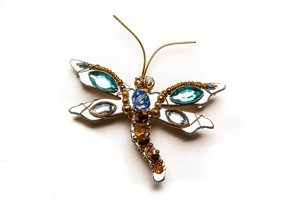 Dragonfly Sophia Pin-Blue