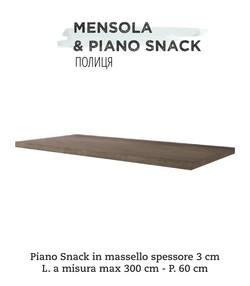 mensola & piano snack 1
