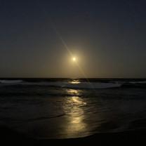 Full Moon over Nobbys Beach