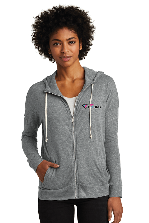 AA2896 Team Fit & Funky Cool Down zip hoodie