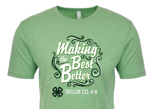Making the Best Better tee