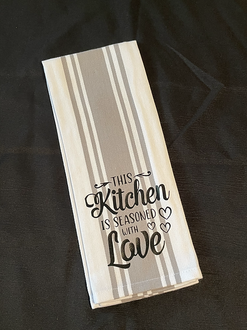 Seasoned withLove dish towel