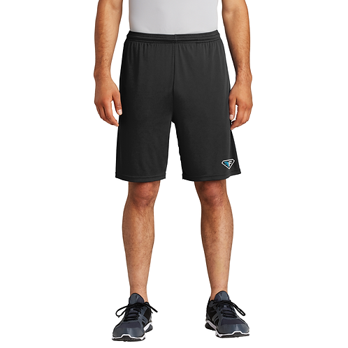 ST355P Men's Athletic Shorts with pockets