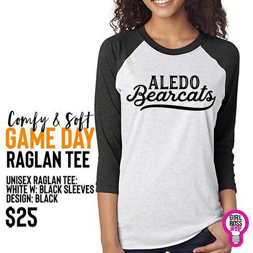 Game Day Raglan Tee