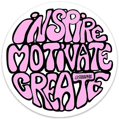 Vinyl decal - Inspire Motivate Create