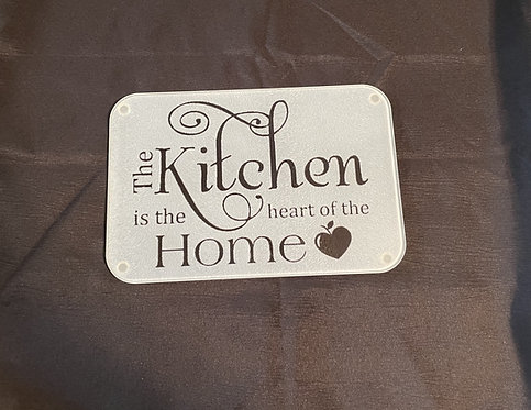 Heart of the Home glass cutting board