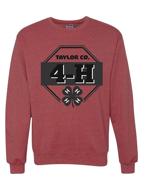 Taylor Co. 4-H Crew Neck Sweatshirt