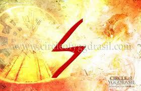 Sowelu: The Sun. Wholeness, Life Force