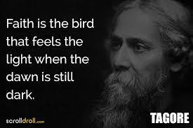 Rabindranath Tagore: Gitanjali No. 1*