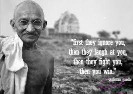 Gandhi: Anger Is Not The Way