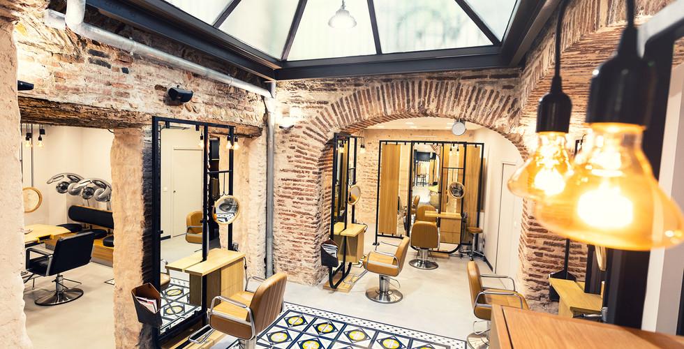 Salon de coiffure - rénovation