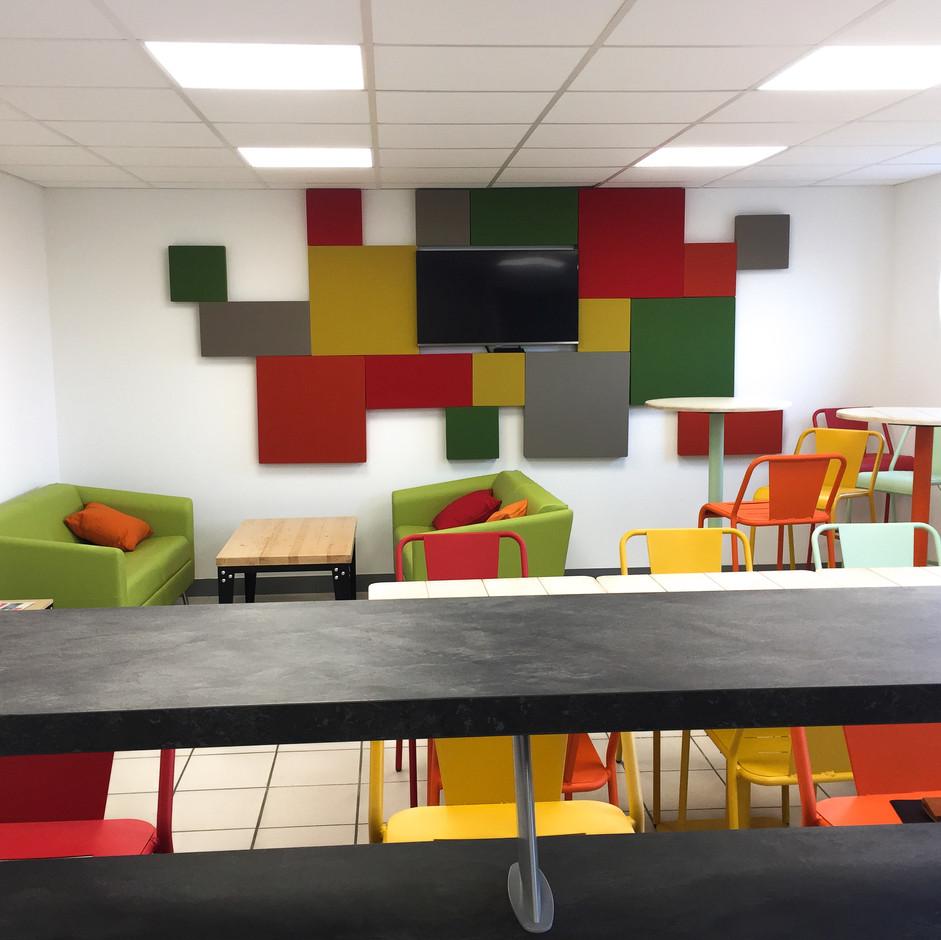 Salle de repos dynamique / 35,00 m²
