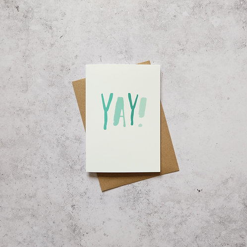 YAY // Greeting Card