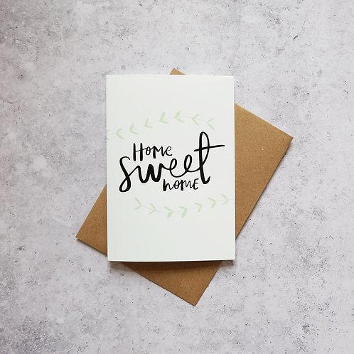 Home Sweet Home // Greeting Card