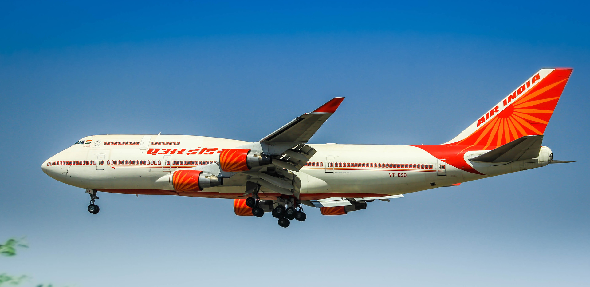VT-ESO, Air India