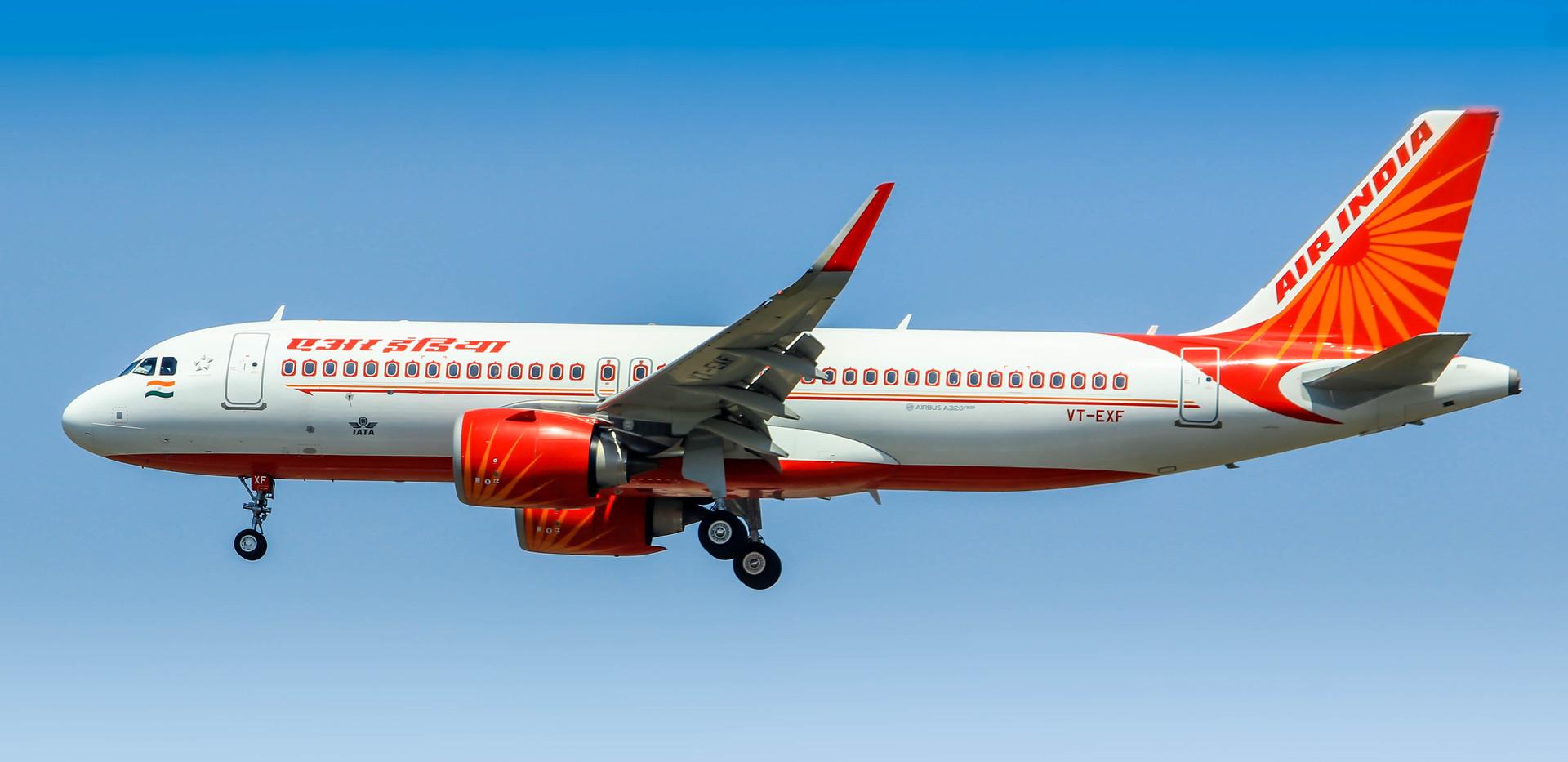 VT-EXF, Air India