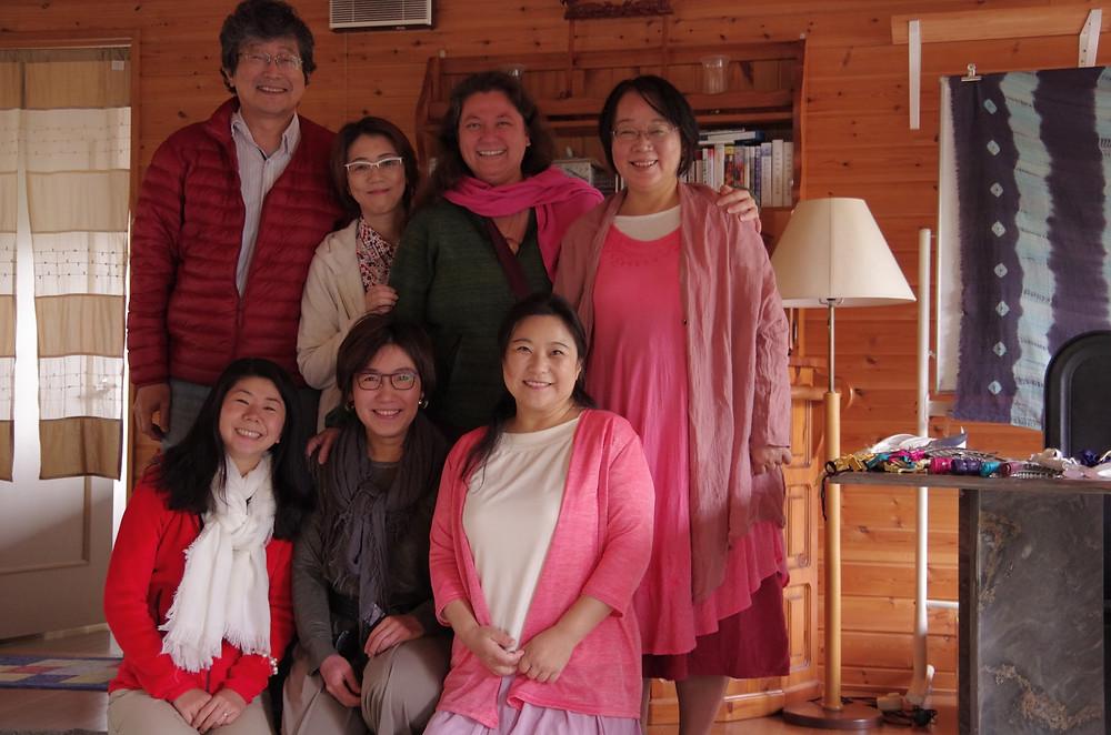 Yukio San, Akeyo San, Nina San, Yuko San, Keiko San, Nami San, and Eishin San
