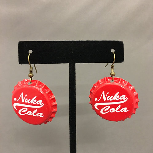 Bottlecap earrings