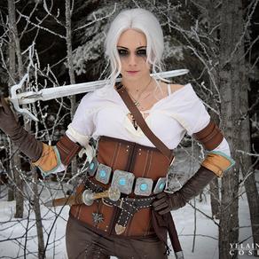 Witcher 3 Ciri Cosplay - Yelaina May