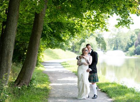 Tessa & Cian's Wedding in Washington Park and Glenmont, NY