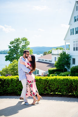 sagamore engagement photos hannah lux photography