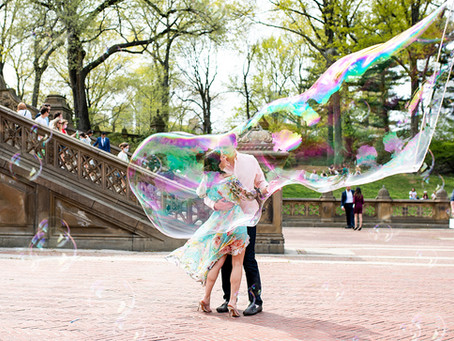 Spring Central Park Engagement Session with Olivia & Aaron, New York City, NY