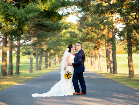 Meghan & Will's Wedding at Shaker Ridge Country Club and the Siena College Grotto