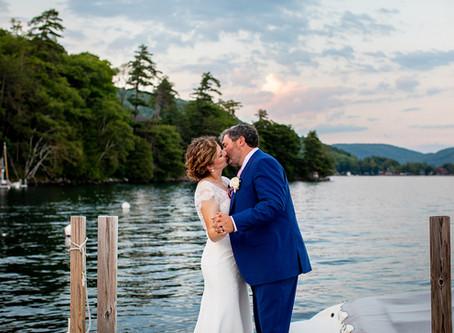 Tara & Cailean's Wedding at Roger's Rock Club, Lake George, Ticonderoga NY