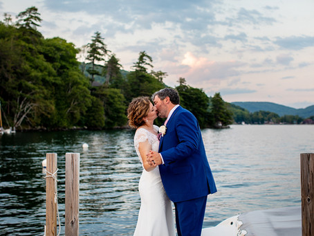 Tara & Cailean's Wedding at Roger's Rock Club, Lake George, Ticonderoga NY
