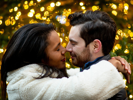 Bryant Park Winter Village Surprise NYC Proposal: Taylor & Helen