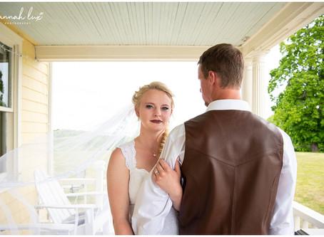 Cortney & Tyler's Mount 'N Sea Inn Wedding