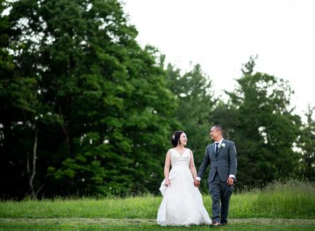 Kim & Eldrid's Wedding at Pond Hill Pavilion, Feura Bush, NY