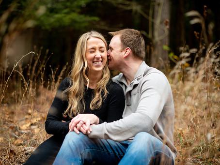 Meghan & Jim's Adirondack Lakeside Engagement Session, Upstate NY