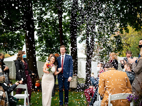 Lauren & Tyler's Micro Wedding, Albany, NY