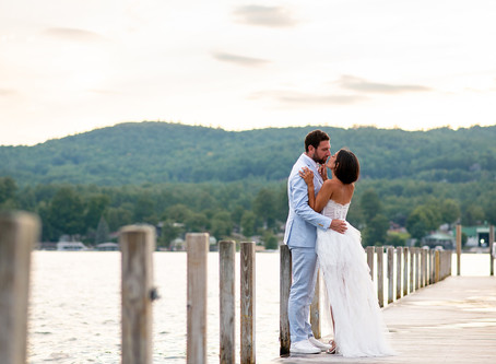 Keren & Brett's Engagement Session at The Sagamore Resort, Lake George, NY