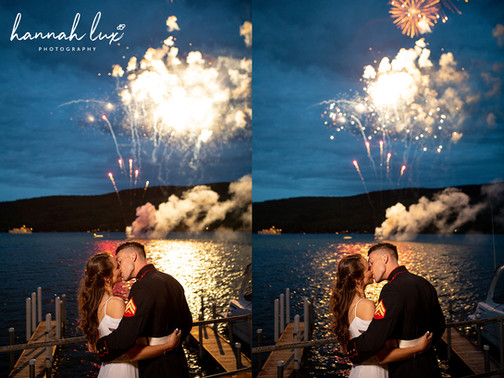 Lake George Wedding - Hannah Lux Photography