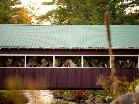 Chelsea & Ben's Adirondack Engagement Session, Upstate NY