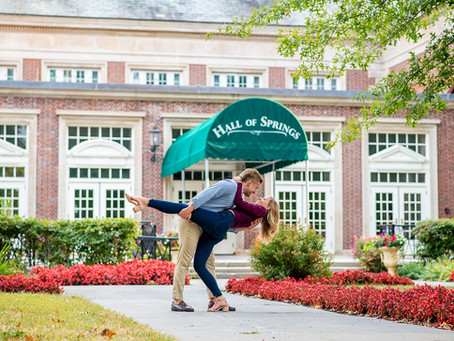 Molly & Erik's Engagement Session at Saratoga State Park, Saratoga Springs NY