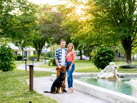 Sarah & Mike's Congress Park Engagement Session