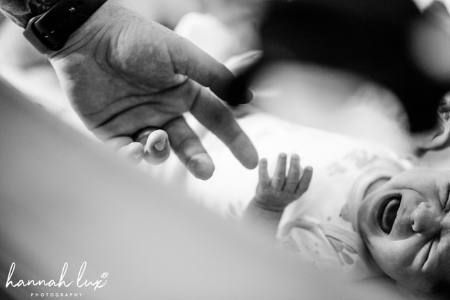 Hannah Lux Photography Newborn Portrait