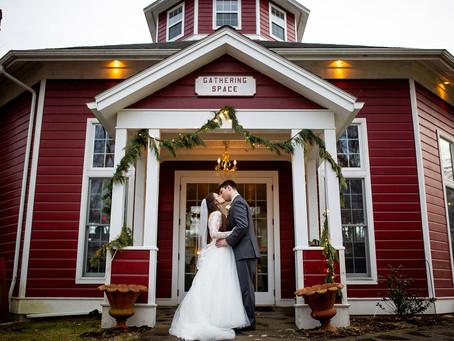 Alex & Brad's Winter Wedding at the Appel Inn, Albany, NY