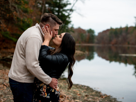 Kristen & D.J.'s Engagement Session at Chenango Valley State Park