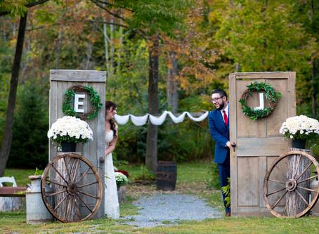 Erin & Jason's Wedding at Henry Hill Farm, Howe's Cave, NY